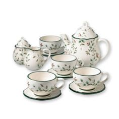 Pfaltzgraff Winterberry Tea/Coffee set. I love my Pfaltzgraff dinnerware. This is equally as lovely!