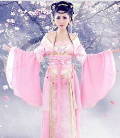 Ancient Chinese Pink Fairy