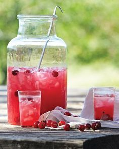 Oh my little chick a dees...what better way to cool off than a tart cherry lemonade?