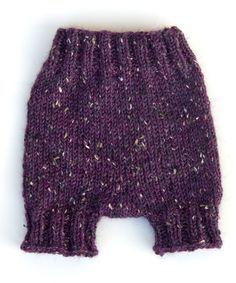 Free baby pants knitting pattern