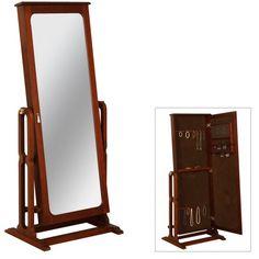 transitional jewelry armoire cheval mirror powell httpwwwamazoncomdpb003va90murefcm_sw_r_pi_dp_t88qvb1a7zr0w amazoncom antique jewelry armoire