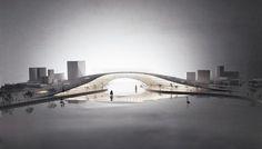 Moon Bridge / JAJA Architects.,© JAJA Architects.