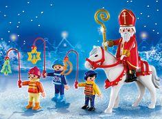 Playmobil Navidad - San Martín con niños, playset (5593): Amazon.es: Juguetes y juegos