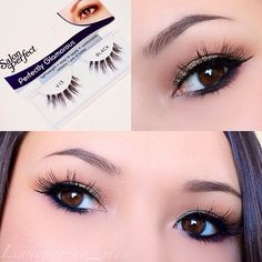 Ardell natural lash baby wispies black makeup i want to for Salon 615 lashes