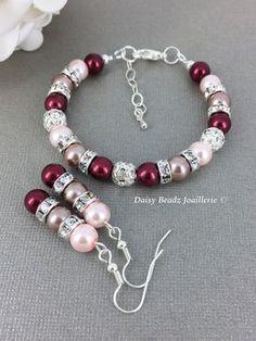 Why do I succumb to white gold for my jewelry? Bead Jewellery, Wire Jewelry, Jewelry Sets, Bridal Jewelry, Jewelry Crafts, Beaded Jewelry, Jewelry Bracelets, Jewelery, Jewelry Making