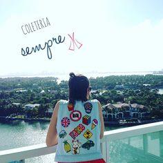 #semprecoleteria♡ #coleteria #patches #jeans #budapeste #colete #vest www.coleteria.com.br