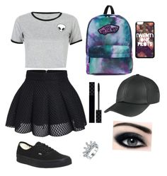 """""""VV"""" by martie12 ❤ liked on Polyvore featuring WithChic, Vans and Gucci"""