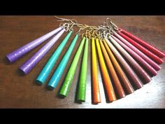 49. Long Cone Quilling Earrings Tutorial - YouTube