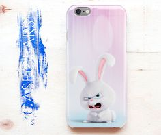 Rabbit The Secret Life Of Pets iPhone 5 6 Case Funny Samsung S 4 5 6 Edge Cute…