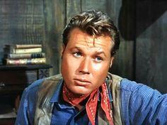 That look tho John Smith Actor, Laramie Tv Series, Robert Fuller, Most Handsome Actors, Best Hero, The Virginian, Tv Westerns, Old Tv Shows, Best Actor
