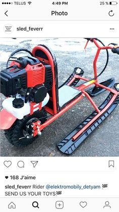 Budget Petrol Micro Scooter With Suspension - Salvabrani Snow Toys, Go Kart Buggy, Snow Vehicles, Mini Chopper, Solar Car, Karts, Power Bike, Bike Engine, Drift Trike