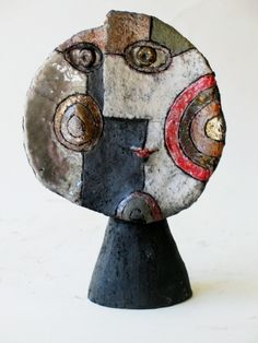 ceramic sculpture by Roger Capron, Vallauris, France