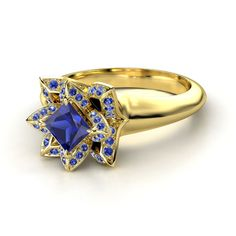 Zora's Sapphire, a Legend of Zelda: Ocarina of Time engagement ring