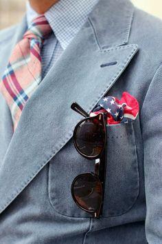 denim suit jacket