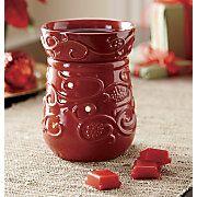 vine patterned candle warmer
