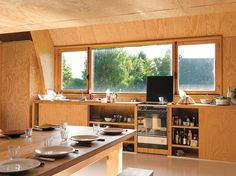 Maison dans un Champs / Jean Barache – nowoczesna STODOŁA | wnętrza & DESIGN | projekty DOMÓW | dom STODOŁA