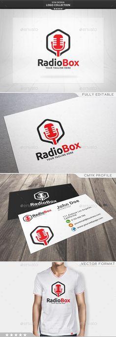 Radio Box Logo - Symbols Logo Templates Download here : http://graphicriver.net/item/radio-box-logo/15687810?s_rank=249&ref=Al-fatih