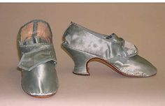 Silk Shoes, late 18th century