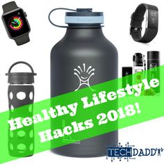 2018 is HERE!! A new year to create a better you! Start the year off right by checking out our Healthy Lifestyle Hacks for 2018!  #fitness #loseweightfast #loseweight #motivation #Motivate #healthy #lifestyle #Techdaddy #goals