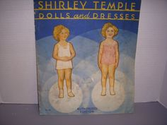 KATHY'S DOLLS GALORE on Ruby Lane http://www.rubylane.com/item/356695-766/Vintage-Paper-Doll-Set-Shirley #shirleytemple