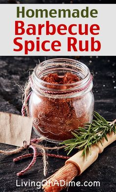 Homemade Barbecue Spice Rub Recipe - Homemade Seasonings Mixes And Blends