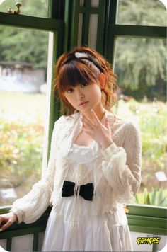 Tamura Yukari - japanese idol and seiyû Girls Dresses, Flower Girl Dresses, Japanese Girl, Idol, Actresses, Wedding Dresses, Board, Flowers, Fashion