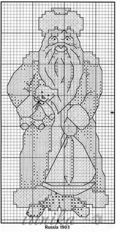 ru / Photo # 11 - santa claus - toys on the Christmas tree - irinika Santa Cross Stitch, Cross Stitch Alphabet, Cross Stitch Samplers, Cross Stitch Charts, Counted Cross Stitch Patterns, Cross Stitch Designs, Cross Stitching, Cross Stitch Embroidery, Embroidery Patterns