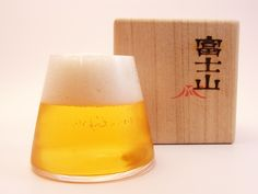Fuji-san glass