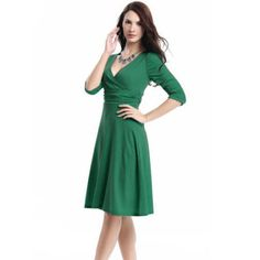 Womens Vintage Style Swing 1950s 60s Retro Pinup Rockabilly Office