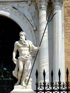 Nettuno - Statua di Arsenale, Venezia