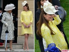 Kate Middleton Wears Emilia Wickstead To A Royal Garden Party