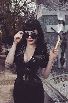 I'm Jessica, I'm interested in things such as the Gothic Subculture,Horror/Macabre,plus Punk and Psychobilly.I also have a big interests in Pop Culture so a bit of everything, but mostly dark and spooky things 👻 Dark Beauty, Goth Beauty, Rockabilly Style, Rockabilly Fashion, Rockabilly Girls, Rockabilly Bangs, Rockabilly Dresses, Dark Fashion, Gothic Fashion