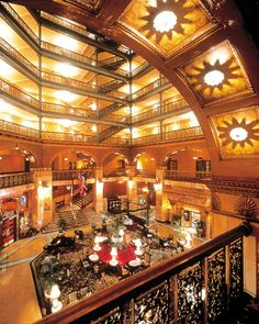 denver brown palace hotel - Google Search