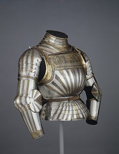 Elements of a Light-Cavalry Armor [Italian (Milan)] (14.25.716) | Heilbrunn Timeline of Art History | The Metropolitan Museum of Art