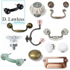 D. Lawless hardware giveaway @ the handmade home.