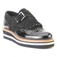 Zapato monk flatform piel fosco Outlet, Sperrys, Boat Shoes, Fashion, Boat Shoe, Winter, Women, Moda, Fashion Styles