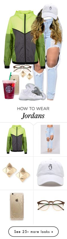 """9.14.16"" by mcmlxxi on Polyvore featuring NIKE, Retrò, Wildfox, Rifle Paper Co and Valentino"