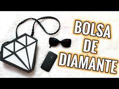 DIY BOLSA DE DIAMANTE DE EVA | FAÇA VOCÊ MESMA SUPER FACIL - YouTube
