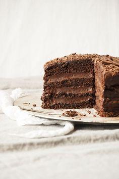 Boca negra chocolate chipotle cakes