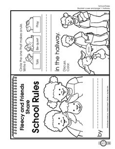 Worksheets Classroom Rules Worksheet this worksheet had students distinguish between school rules and results for guest the mailbox