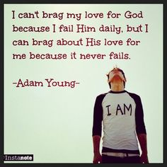 - Adam Young. I LOVE this, makes me smile.
