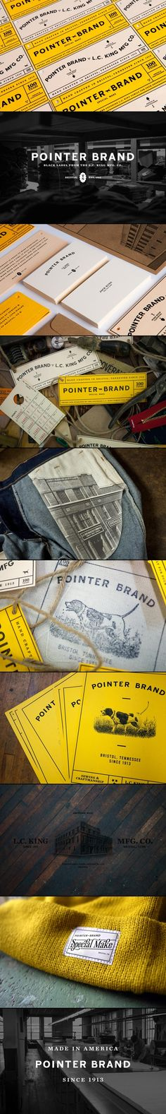 Pointer Brand | Dan Blackman