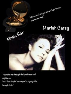 Mariah Carey Music Box Album Cover