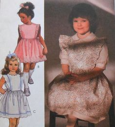 Toddler Pinafore / Sundress Sewing Pattern