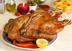 Christmas Goose Recipe for a Christmas menu idea.