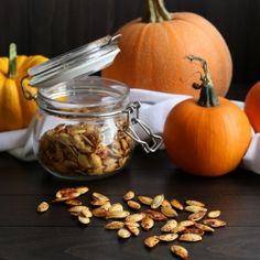Got Pumpkin? Learn how to roast, puree and store them and how to handle and roast those pesky yet delicious pumpkin seeds. {recipe}