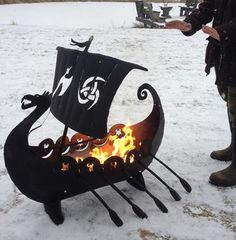 Latest items http://www.imaginemetalart.com/fire-pits.html