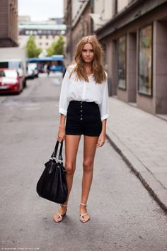 10 Ways To Rock High Waisted Shorts This Summer