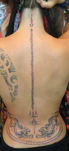 Tatuajes tailandeses para mujeres y su significado