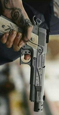 1911 LOVE... I love this so much! This is badass with the tattoo matching and everything <3